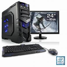 billige computer csl gaming pc set i7 6700 geforce gtx 1060 16 gb ram