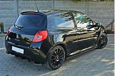 Rear Side Splitters Renault Clio Iii Rs Gloss Black Our