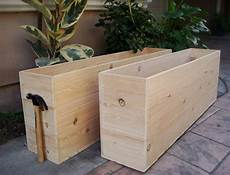 Items Similar To Custom Wood Planters Large Vegetable