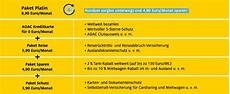 Adac Visa Gold - adac goldkarte leistungen resourcepacks24