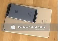 Mini 3 Versi Emas Render Gambar 3d Daily Gadget