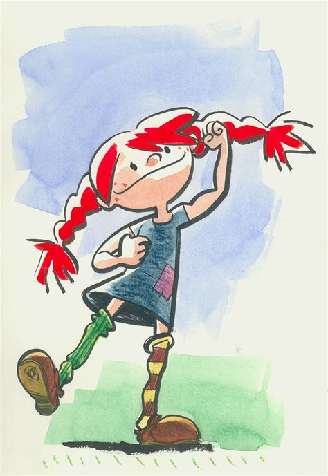 Pippi Long Stockings Cartoon