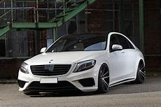 Mercedes Amg S63 Slammed Stanced And Boosted Carscoops