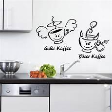 guter kaffee böser kaffee kaffee engel teufel f 252 r wohnzimmer k 252 che wandtattoo