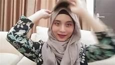 Cara Memakai Jilbab Pashmina Menutup Dada Modern Yang