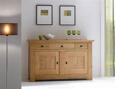 meuble bahut 2 portes chene massif ateliers de langres