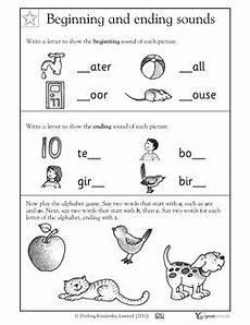 worksheets for beginners printable 18528 1st grade kindergarten reading worksheets beginning and ending sounds printable worksheets