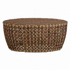summer classics largo woven rattan drum outdoor coffee table outdoor coffee tables colorful
