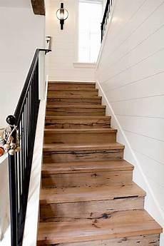 comment rénover des escaliers en bois relooker un escalier avec des palettes bois escalier
