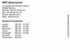 ᐅ Mnt Assurances Horaires D Ouverture 17 Boulevard