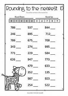 free math worksheets for rounding 8101 rounding numbers to the nearest 10 and 100 whole numbers rounding numbers rounding