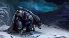 Warhammer Space Wolf Wallpaper