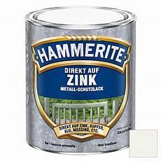 hammerite metall schutzlack direkt auf zink reinwei 223 750