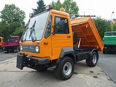 multicar m26 7 4x4 profiline 2007 three sided tipper truck