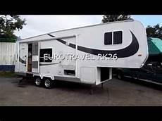 wohnauflieger eurotravel 5 th wheel mit t 220 v truck shop