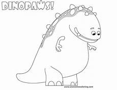 awesome dinopaws claude coloring page download or print and make a fun activity for kids who