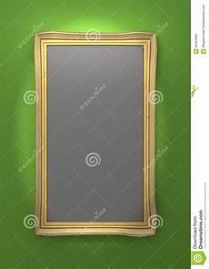 goldene bilderrahmen goldene bilderrahmen stock abbildung illustration von