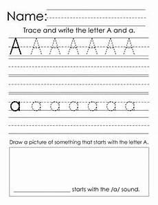 kindergarten handwriting practice a z alphabet writing by dahlia vargas