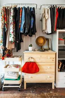 Bedroom Clothes Storage Ideas For Small Spaces by 25 Best Ideas About No Closet Solutions On No