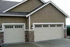 2 Garage Doors Vs 1 by Premier Garage Doors 13 Ranch Style Garage Door My