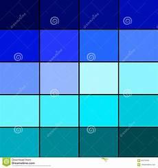 passende farben zu blau blaue farbpalette stock abbildung illustration edit