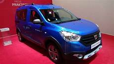 dacia dokker stepway 2017 2017 dacia dokker stepway tce 115 exterior and interior auto show brussels 2017
