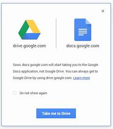 new url for google docs