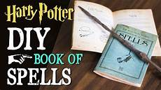 Diy Harry Potter Spellbook Pocket Book Of Spells
