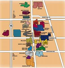 map of hotels on the las vegas strip yahoo image search