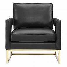 Austria Black Bonded Leather Chair Eurway