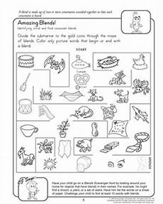 amazing blends fun reading worksheets for 2nd grade jumpstart