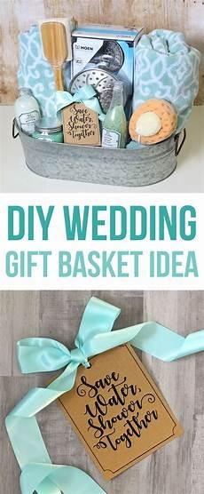 Bathroom Gift Ideas Shower Themed Diy Wedding Gift Basket Idea Wedding Gift