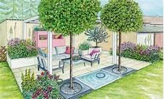 bepflanzung vor einer mauer gesch 252 tzte sitzecke vor einer mauer sitzplatz im garten