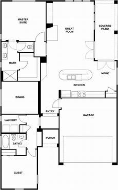 whidbey house plans whidbey floorplan 1671 sq ft trilogy at redmond ridge