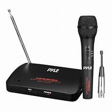 cordless microphone system pylepro pdwm100 home and office microphone systems musical instruments microphone
