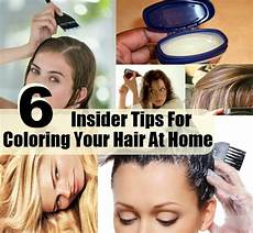 Tips For Dying Hair At Home