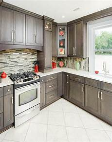 Grey Kitchen Base Cabinets by Driftwood Grey Kitchen Grey Kitchen Cabinets Rta