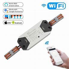 diy wifi smart light switch universal breaker timer