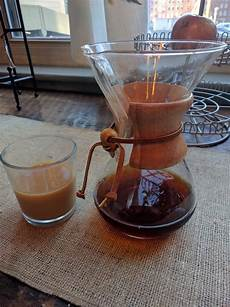 Cold Brewed Coffee - how to make cold brewed coffee using a chemex alex