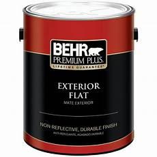 behr premium plus 1 gal deep base flat exterior paint 430001 the home depot