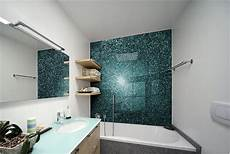 pvc statt fliesen an der wand teal luxury bathroom www creoglass co uk creoglass