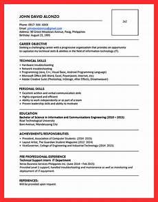 25 inspirational resume pattern sle