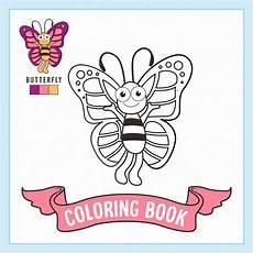 Tier Malvorlagen Schmetterlings Tier Malvorlagen Buch Premium Vektor