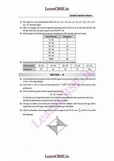 cbse class 10 mathematics download papers 2018 2019 studychacha