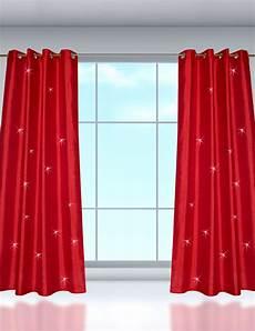 vorhang rot vorhang 171 silk 187 rot