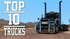 top 10 trucks mods for american truck simulator 2018