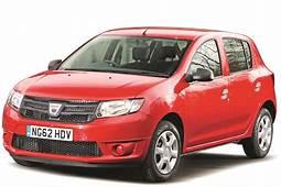 Dacia Sandero Hatchback Cutoutjpg