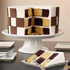 checkerboard candy clay cake wilton