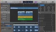 garage band how to work with regions in garageband on mac and ios