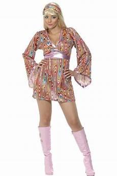 D 233 Guisement Disco Femme Hippie Les Costumes Disco Femme Hippie